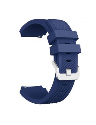 Λουράκι σιλικόνης Twill Texture για το Amazfit GTR 47mm Midnight Blue OEM