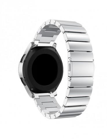Λουράκι stainless steel bracelet με butterfly buckle για το  Xiaomi Mi Watch - Silver