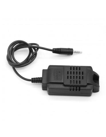 Sonoff Aισθητήρας θερμοκρασίας & Υγρασίας WiFi 2.5mm μαύρος SNF-SI7021