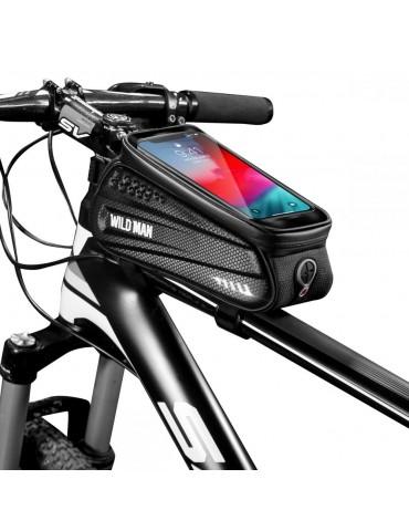 WildMan Θήκη Ποδηλάτου Waterproof Hardpouch Bike Mount Large - Μαύρο