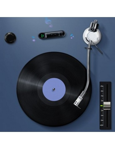 Baseus Qiyin Ασύρματος δέκτης Bluetooth σε 3.5mm Jack για stereo αυτοκίνητου (WXQY-01)