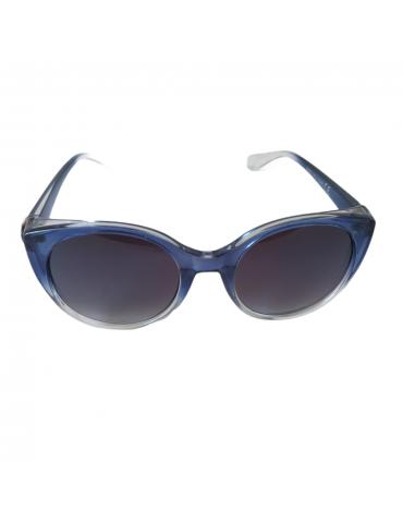 Γυαλιά ηλίου με μαύρο φακό και μπλε ντεγκραντέ σκελετό
