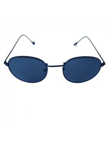 Γυαλιά ηλίου με γκρι φακό και μαύρο σκελετό