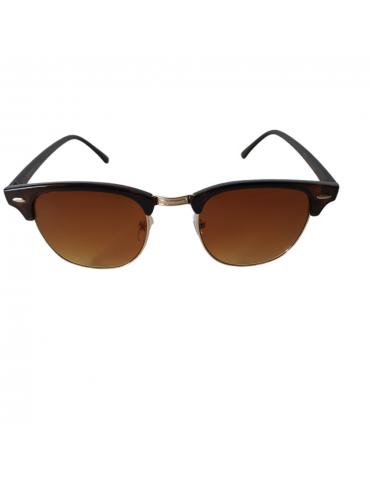 Γυαλιά ηλίου με καφέ φακό και καφέ σκελετό