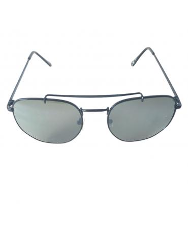 Γυαλιά ηλίου με πράσινο φακό και μαύρο σκελετό