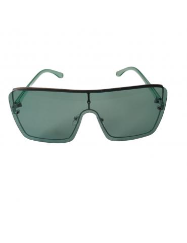 Γυαλιά ηλίου με πράσινο διάφανο φακό και πράσινο διάφανο σκελετό