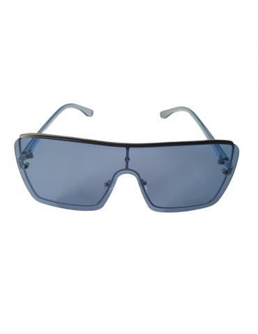 Γυαλιά ηλίου με γαλάζιο διάφανο φακό και γαλάζιο διάφανο σκελετό