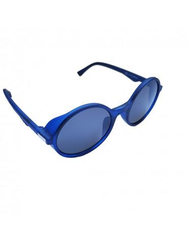 Γυαλιά ηλίου με μαύρο φακό και μπλε σκελετό