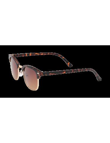 Γυαλιά ηλίου με καφέ ντεγκραντε φακό και ταρταρούγα σκελετό