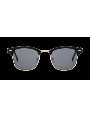 Γυαλιά ηλίου με μαύρο φακό και μαύρο σκελετό