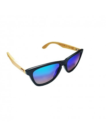 Γυαλιά ηλίου polarized με μπλε-πράσινο φακό
