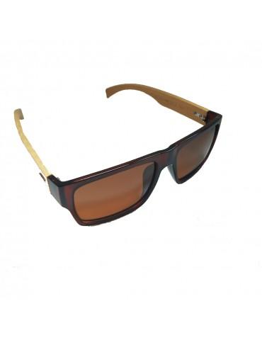 Γυαλιά ηλίου polarized με καφέ φακό