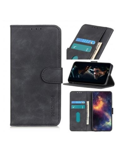 Δερμάτινη Θήκη/ Πορτοφόλι Με Μαγνητικό Κλείσιμο Για Το Samsung Galaxy A51- Black