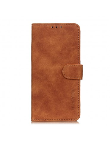 Δερμάτινη Θήκη/ Πορτοφόλι Με Μαγνητικό Κλείσιμο Για Το Samsung Galaxy A71- Καφέ
