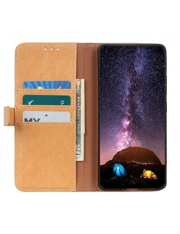 Δερμάτινη Θήκη- wallet με μαγνητικό κλείσιμο για το Xiaomi Redmi Note 9 Pro/Pro Max /Note 9S - ΚΑΦΕ