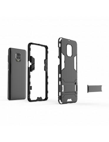 Θήκη Πλάτης Armor με Kickstand για το Xiaomi Redmi Note 9 Pro/Pro Max /Note 9S  - Black