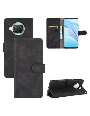 Δερμάτινη θήκη- πορτοφόλι με μαγνητικό κλείσιμο για το Xiaomi Mi 10T Lite 5G - Black