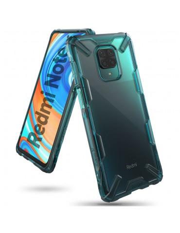 Ringke Fusion-X Σκληρή Θήκη με TPU για Xiaomi Redmi Note 9S/ 9 Pro / 9 Pro MAX -Turquoise Green