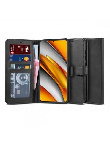 Θήκη TECH-PROTECT δερμάτινη πορτοφόλι για XIAOMI POCO F3/MI 11i - BLACK