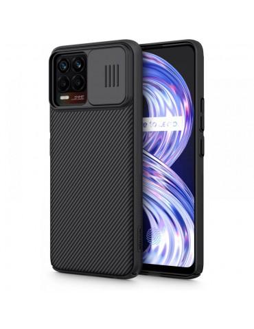 Nillkin CamShield Case Slim Cover with camera protection shield for REALME 8 / 8 PRO -black