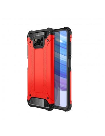 Θήκη Tough Armor Back Cover για Xiaomi Poco X3 - Red OEM