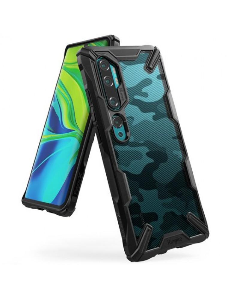 Θήκη Ringke Fusion X Θήκη Ringke Fusion X για Xiaomi Mi Note 10 / 10 Pro Camo black Xiaomi Mi Note 10 / 10 Pro black