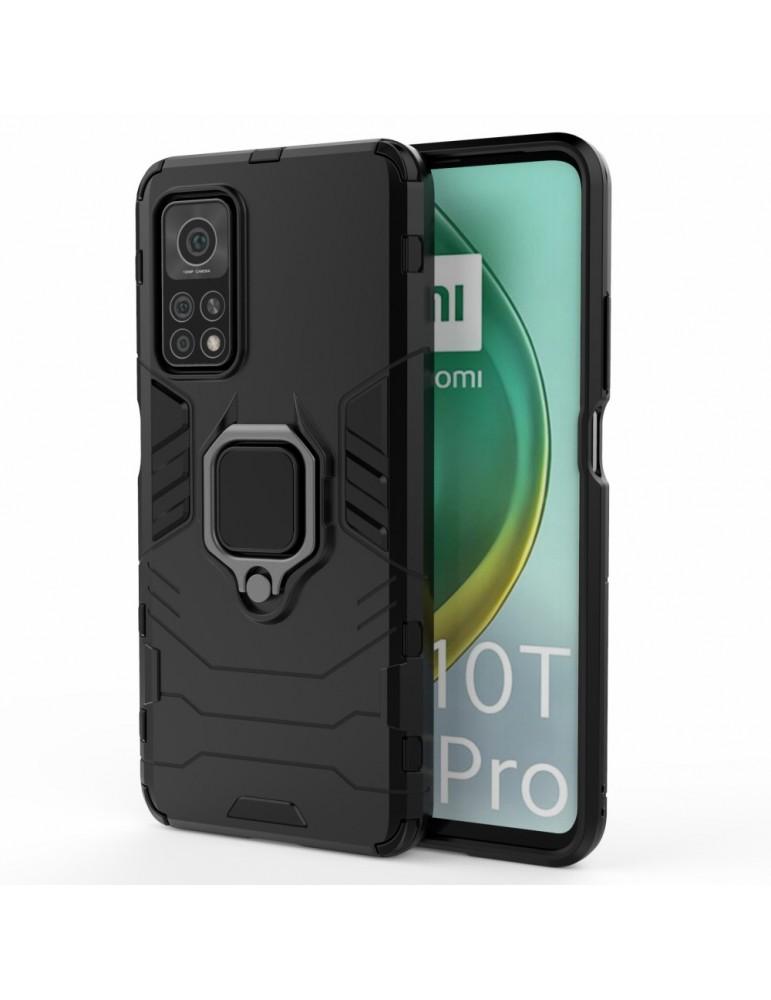 Θήκη Πλάτης Armor με Ring για Το Xiaomi Mi 10T 5G/10T Pro - Black