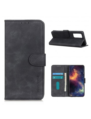 Δερμάτινη θήκη- πορτοφόλι με μαγνητικό κλείσιμο για το  Xiaomi Mi 10T Pro 5G/Mi 10T 5G - Black