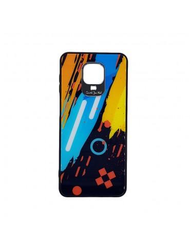 Θήκη Color Glass Case Durable Cover with Tempered Glass Back and camera cover Xiaomi Redmi Note 9 Pro / Redmi Note 9S/Note 9S pattern 1