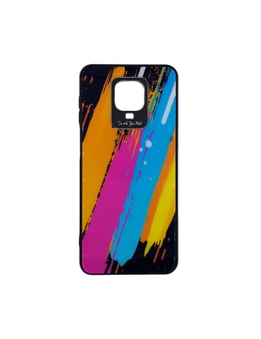 Θήκη Color Glass Case Durable Cover with Tempered Glass Back and camera cover Xiaomi Redmi Note 9 Pro / Redmi Note 9S/Note 9S pattern 3