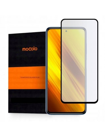 Mocolo Αντιχαρακτικό Τζάμι Προστασίας Full Cover /Full Glue για Xiaomi Poco X3 NFC-Black