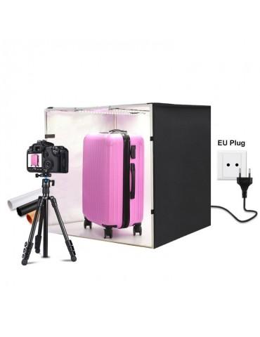 Puluz Φωτογραφικό Στούντιο Προϊόντων με LED Φωτισμό 80x80x80cm