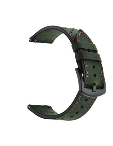 Δερμάτινο λουράκι με τρύπες για το HiFuture HiGear -(Army Green)