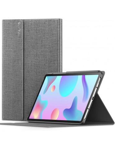 Θήκη INFILAND Classic Stand Samsung Galaxy S6 Lite 10.4 P610 / P615 - Grey