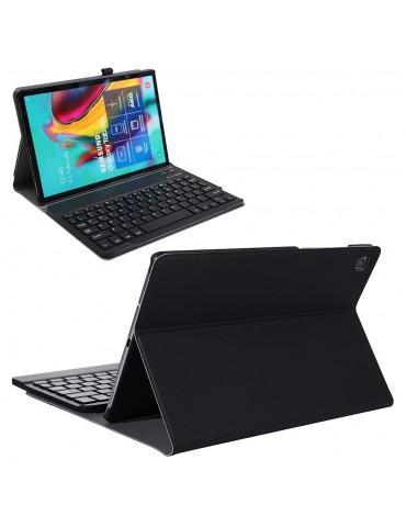 Δερμάτινη θήκη - βιβλίο με ασύρματο πληκτρολόγιο Για Samsung Galaxy Tab S6 Lite -Black