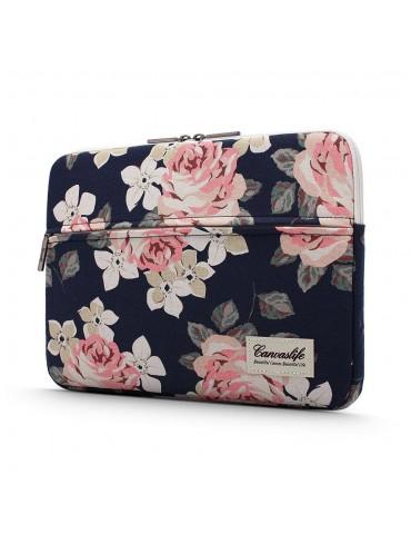 Canvaslife Sleeve Θήκη Τσάντα για MacBook / Laptop 15'' - 16'' Navy Rose