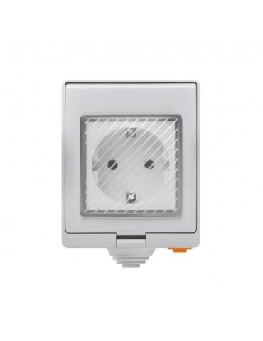 Sonoff S55TPE-FR Wi-Fi αδιάβροχη έξυπνη πρίζα -λευκό