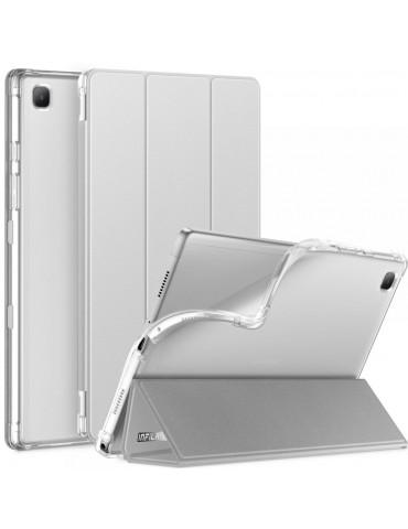 Θήκη INFILAND CLASSIC STAND για Samsung GALAXY TAB A7 10.4 T500/T505 - Silver