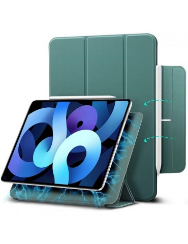 ESR Rebound Magnetic Smart Cover Stand Case - Cactus Green (iPad Air 4 2020)