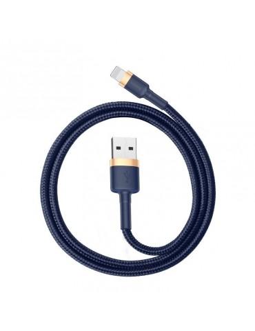 Baseus Καλώδιο Φόρτισης Cafule Lightning cable 1.5A 2m - Χρυσό/Μπλε (CALKLF-CV3)