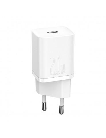 Φορτιστής Baseus Super Si Quick Charger 1C 20W Type C - Baseus - Λευκό