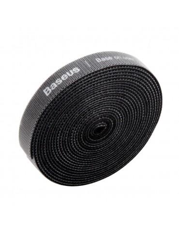 Baseus Rainbow Circle Velcro Straps ACMGT-F01 δεματικό καλωδίων 3m (Μαύρο)