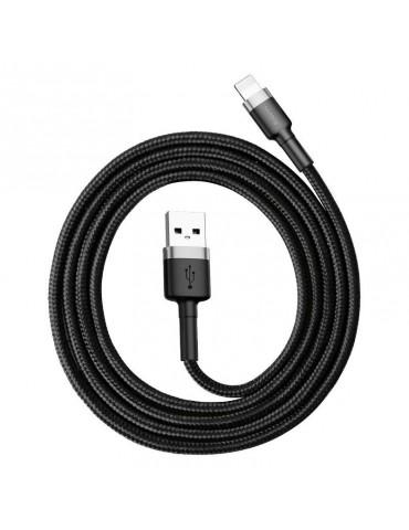 Baseus Cafule USB Lightning Cable 1,5A 2m (Gray+Black) CALKLF-CG1