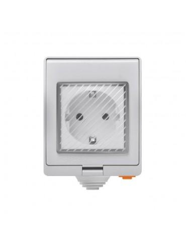 Sonoff Αδιάβροχη Έξυπνη Πρίζα Εξωτερικού Χώρου S55TPF-DE Waterproof Outdoor Smart Socket