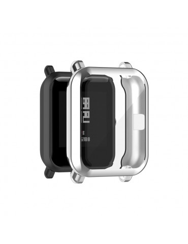 Προστατευτική θήκη σιλικόνης για το Amazfit GTS 2 mini/ Amazfit pop/ Amazfit Bip - Silver