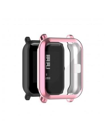 Προστατευτική θήκη σιλικόνης για το Amazfit GTS 2 mini/ Amazfit pop/ Amazfit Bip - Pink