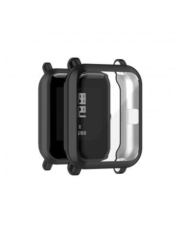 Προστατευτική θήκη σιλικόνης για το Amazfit GTS 2 mini/ Amazfit pop/ Amazfit Bip - Black