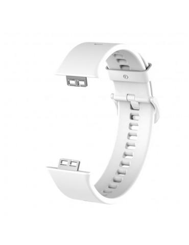 Λουράκι σιλικόνης για το Huawei Watch Fit - White