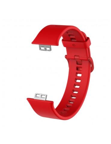 Λουράκι σιλικόνης για το Huawei Watch Fit - Red