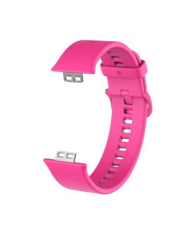 Λουράκι σιλικόνης για το Huawei Watch Fit - Pink